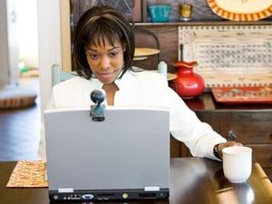 Webcam and Computer