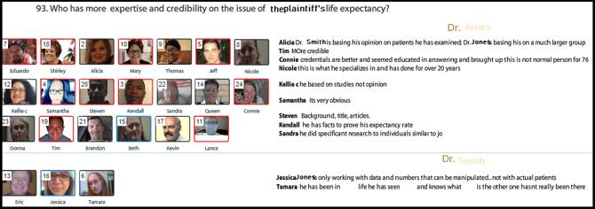 plaintiff witness life expectancy expert persuasiveness-1